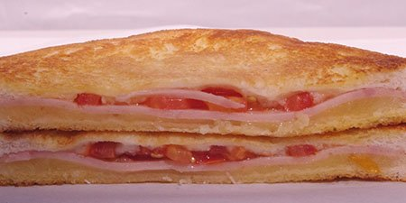 FOC toasted sandwich