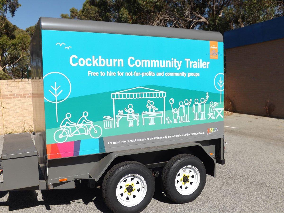 The City of Cockburn Community Trailer